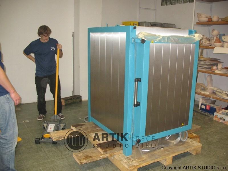 Instalace keramické komorové pece Rohde u zákazníka