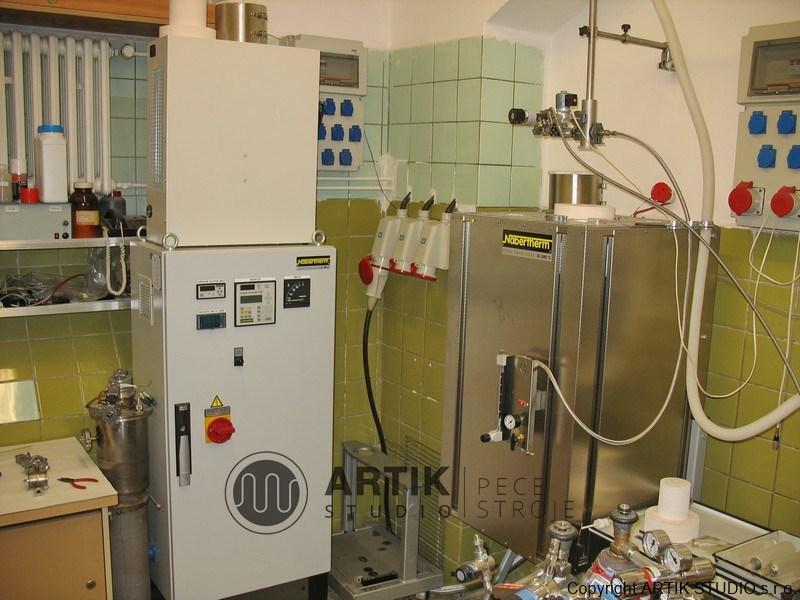 Vysokoteplotní trubková pec Nabertherm RHTV 120/600/18 do 1800°C