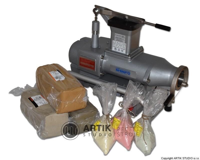 Zařízení keramické dílny a materiály