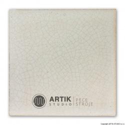 Glazura PK 120, Bílá kraklovací (1020-1080°C)