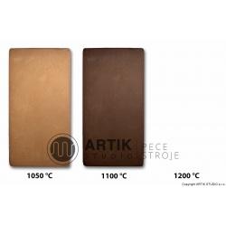 Červeno-hnědá keramická hlína č. 18 (1000-1150°C)