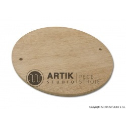 Podložka dřevěná - na hrnčířském kruhu RK - 3E