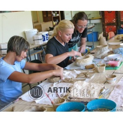 Keramický kurz Keramika I, podzimní kurz č. 3