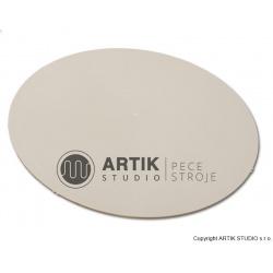 Podložka plastová šedá (bat), průměr 350 mm