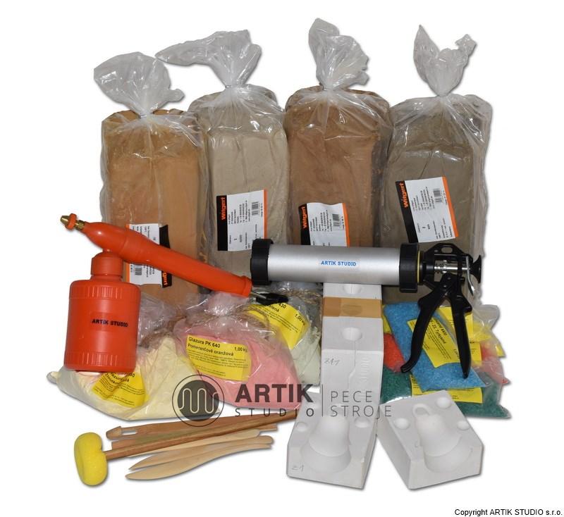 Zařízení keramických dílen