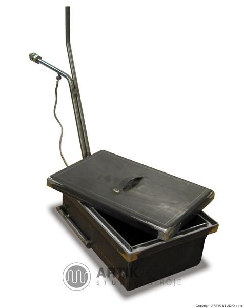 Zaplynovací box pro ochrannou atmosféru v peci - příslušenství pro pece